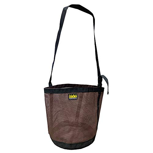 TrailMax Heavy Duty Mesh Feed Bag for Horses, Newly Designed & Reinforced Nylon Mesh Construction, Adjustable Strap, Great for Travel