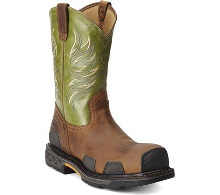 Amazon.com | Ariat Mens Overdrive Comp Toe Western Work | Western
