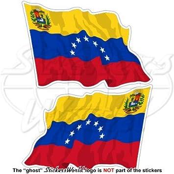 Venezuela EX Estado Bandera de saludando (7 Star) venezolana. América del Sur 3