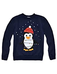 Jolly Rascals Unisex Kids Boys Girls Christmas Jumper