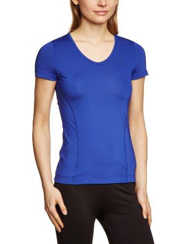 Puma T-Shirt ESS Gym pour femme Bleu Bleu 40