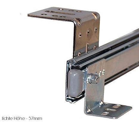 Tastaturauszug  weiss 60x30 cm Nutzhöhe 47mm Schublade Auszug für Tastatur