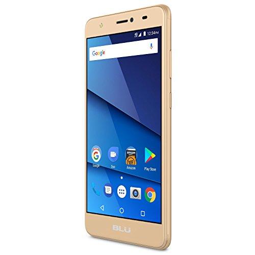 BLU Studio J8 - 4G LTE Unlocked Smartphone -8GB +1GB RAM -Gold