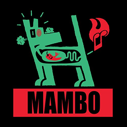 Dog T Women's Farting Black shirt Green Chili Mambo wHqt7SC