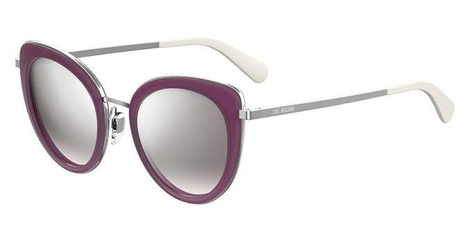 Love Moschino MOL006/S Gafas de sol, Morado (Plum), 51.0 ...