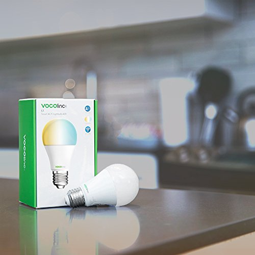 VOCOlinc L2 Smart LED Light Bulb (A19), 2200K-7000K Tunable Cool to Warm Whites, Adjustable, Dimmable, Works with Apple HomeKit, Alexa and Google Assistant, No hub required, Wi-Fi 2.4GHz (1 Pack) by VOCOlinc (Image #5)
