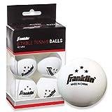 Franklin Sports 3 Star Table Tennis Balls (Pack of 6), 40 mm (Tamaño: 40 mm)