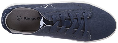 KangaROOS K-Mid Plateau 5071 - zapatilla deportiva de lona mujer azul - Blau (navy 400)