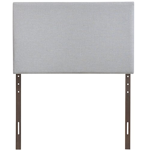 Modway Region Twin Upholstered Linen Headboard in Gray by Modway (Image #2)