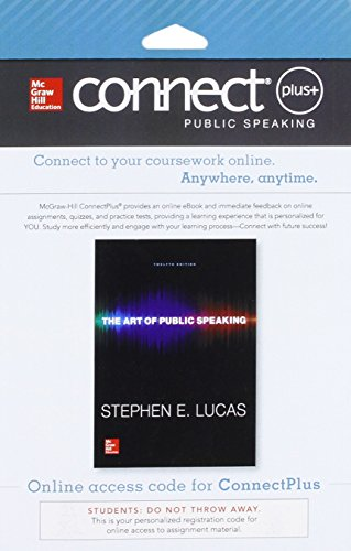Connect Access Card For The Art Of Public Speaking