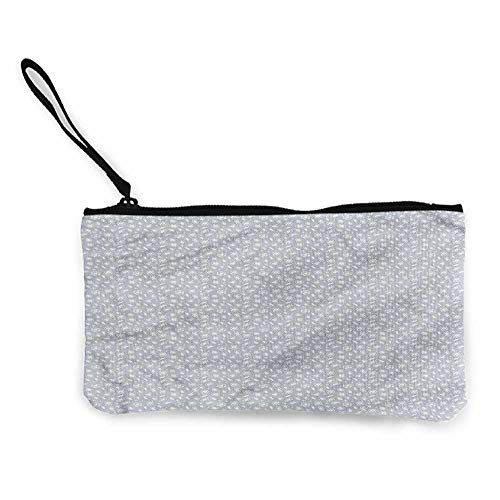 - Canvas Print Wallet Diamonds,Heart Pentagon Sketch,Cosmetic Makeup Bag Set W 8.5