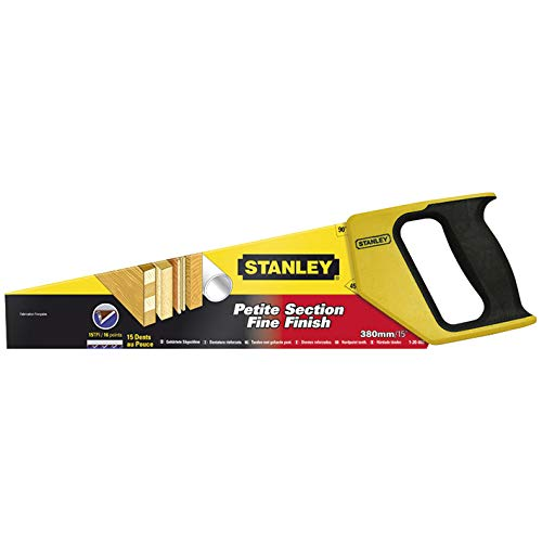 Stanley 1-20-002 Hand Saw Universal HP, Yellow/Silver