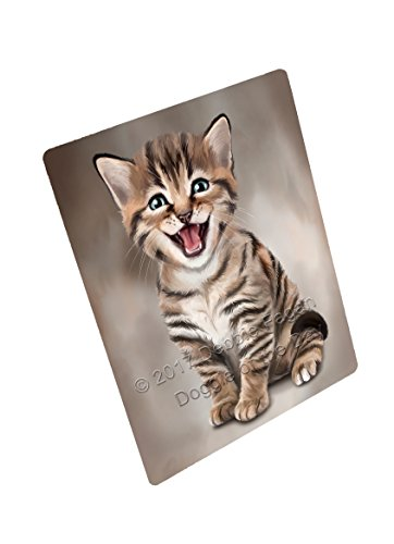 Bengal Cat Art Portrait Print Woven Throw Sherpa Plush Fleece Blanket D012 (50x60 Sherpa)