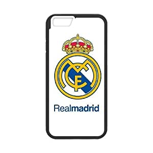 iphone6 4.7 inch phone cases Black Real Madrid Phone cover NAS3821487