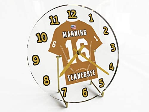 FanPlastic SEC Southeastern Conference College Football – Personalized Desktop Clocks – Size 7 X 7 X 2 – The Best A Fan CAN GET