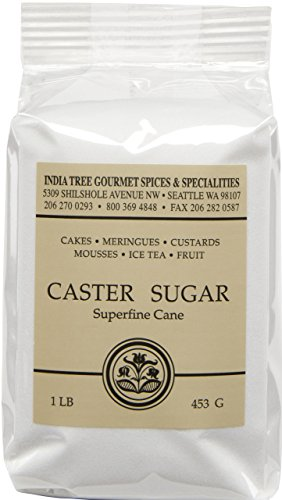 India Tree Superfine Caster Baking Sugar, 1 lb. bag