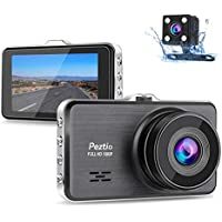 Dual Dash Cam Front and Rear, 1080P Full HD Car DVR...