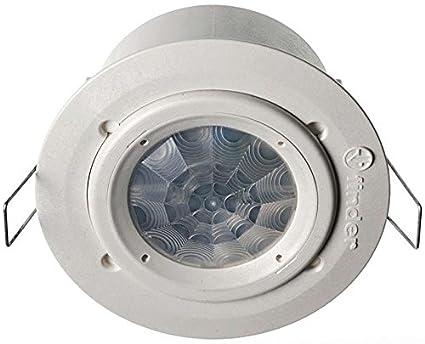Finder serie 18 - Detector movimiento para empotrar techo instalación interior