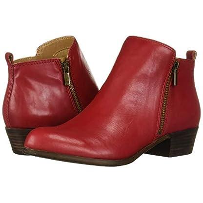 Lucky Brand Women's LK-Basel Ankle Boot, Garnet, 6.5 7