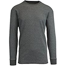 Galaxy by Harvic Mens Crew Neck Thermal Shirt (Multiple Sizes/Colors)