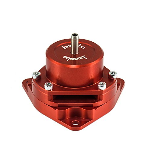 Boomba Racing Red Bolt-On Blow Off Valve BOV for 2016+ Honda Civic 1.5L Turbo