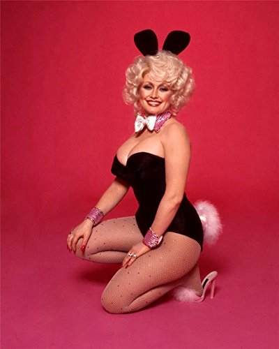 Dolly Parton in Bunny Costume Full Photo 8 inch x 10 inch PHOTOGRAPH ()