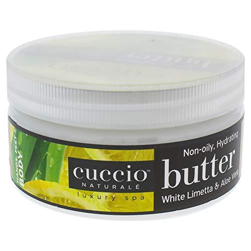 Cuccio Butter Blend, White Limetta and Aloe Vera, 8 Ounce
