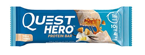 Quest Nutrition Hero Protein Bar Variety Pack. Low Carb Meal Replacement Bar with 20 gram Protein. High Fiber, No Gluten(12 Count)