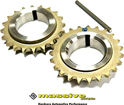 Keyed Cam Chain Drive Gear Pulley Sprocket MZR Mazdaspeed Turbocharged DISI 2.3 originally equipped in Mazda