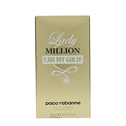 Paco Rabanne Lady Million Eau My Gold! Eau de Toilette Vaporizador ...