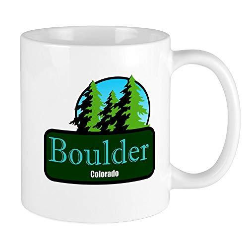 (CafePress Boulder Colorado T Shirt Truck Stop Novelty Mug Unique Coffee Mug, Coffee Cup )