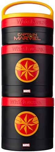 Whiskware Stackable Snack Pack, Captain Marvel