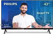 "Smart TV Philips 43PFG6825/78-43"" Full HD sem bordas, HDR Plus, 3 HDMI, 2 USB, Wifi Miracast, Conversor d"