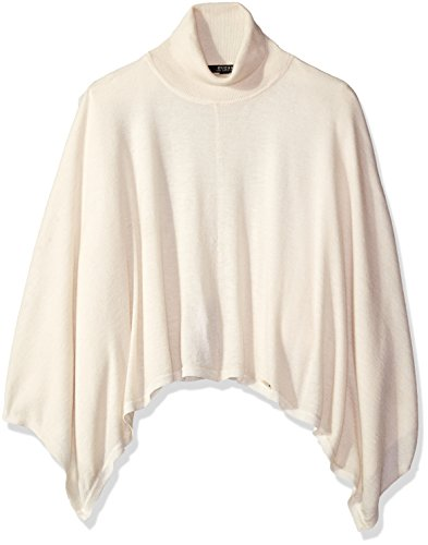 GUESS Girls Turtleneck Poncho Sweater