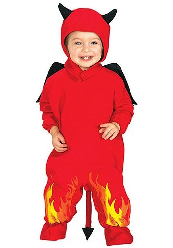 [Devilicious Devil Baby Costume - Toddler] (Devil Baby Halloween Costume)
