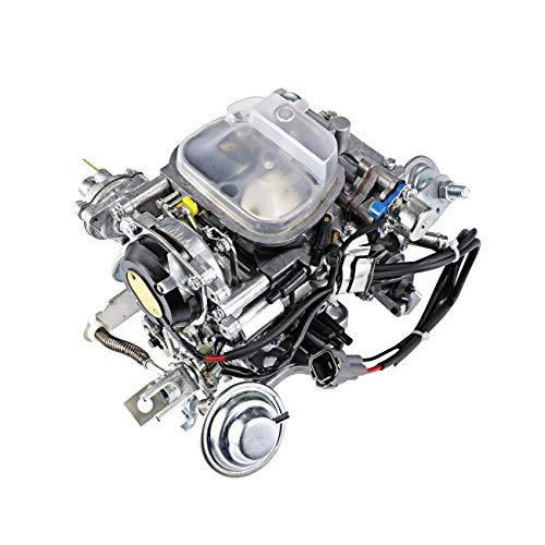 (Partol Carburetor Carb for Toyota 22R Engine TOY-507 1988-1990 Pickup 1981-1988 Hilux 1984 Celica 1984-1988 4Runner with Square Plug - Automatic)