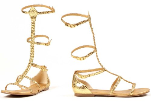 Cairo Costume Shoes - Size 7 (Greek Goddess Sandals)