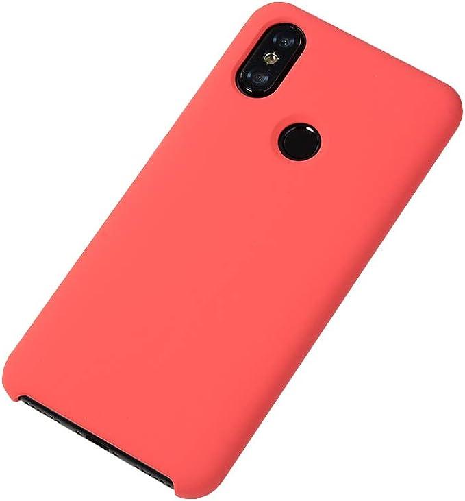 Cover Silicone Liquido Ultra Morbida Per Xiaomi Redmi 9A Colore Rossa
