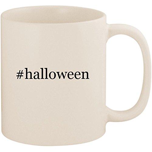 #halloween - 11oz Ceramic Coffee Mug Cup, White]()