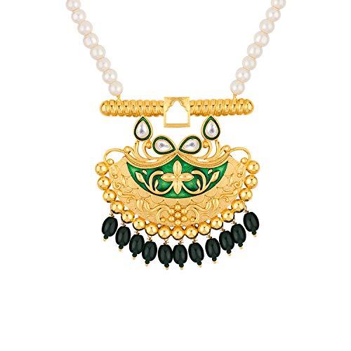 Voylla Noor-Jahan Chandbali Necklace Set for Women