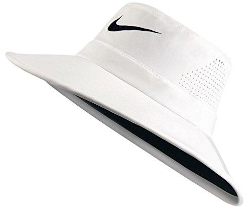 5eebbdda33a Galleon - NIKE Golf UV Sun Bucket Golf Hat 832687 (White) S M
