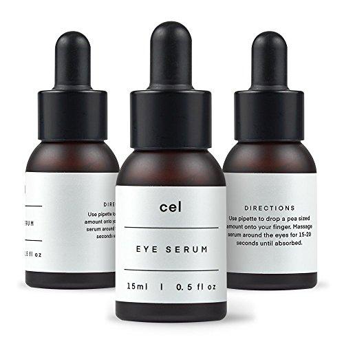 CEL MD Stem Cell Korean Eye Serum | Instant Dark Circles Under Eye Treatment Eyes Puffiness Bags Remover | Undereye Tightening Anti Bag Aging Wrinkle Hyaluronic Acid