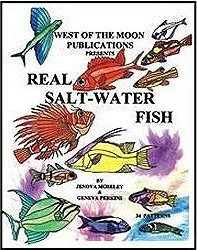 Stained Glass Fish Patterns - REAL SALT WATER FISH Stained Glass Pattern Book