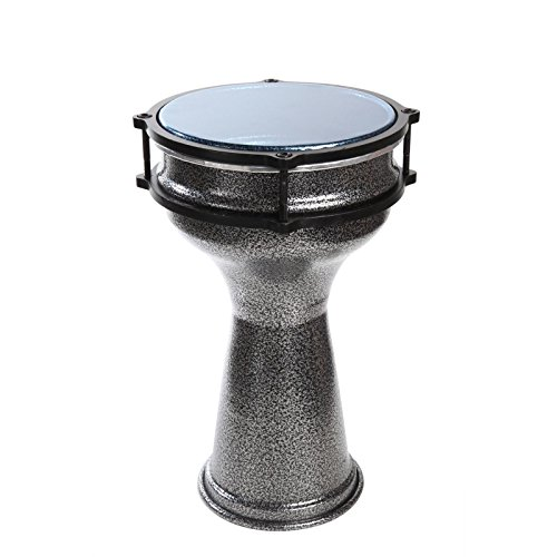 X8 Drums X8-DAR-S 7 x 13 Inches Aluminum Darbuka by X8 Drums