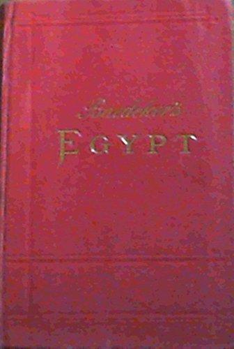 Egypt, Handbook For Travellers