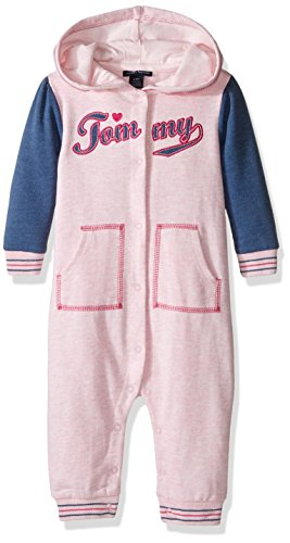tommy-hilfiger-baby-girls-hooded-coverall-pink-3-6-months
