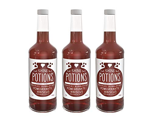 - Shine Potions Fairy Bubbles, All Natural Herbal Tonic, Organic Juices, Ready to Drink Cocktail Mixer & Mocktail Beverage (3 Pack)