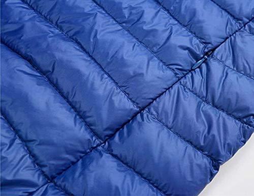 Le Chaud Bas Doudoune D'hiver Ves Emballables Blau Essentiel Ultralight Veste Hommes Montant Gilet Vers Col Quilted Vest w6UxqY