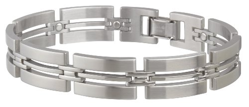 Sabona Imperial Stainless Magnetic Bracelet, X-Large, Outdoor Stuffs