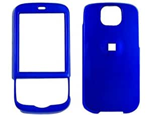 Hard Plastic Blue Phone Protector Case For T-Mobile Shadow 2009